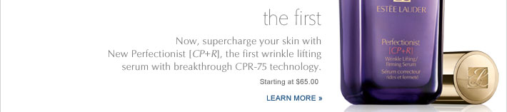 the first Now, supercharge your skin with  New Perfectionist 