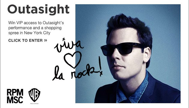 Outasight sweepstakes