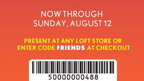 NOW THROUGH SUNDAY, 