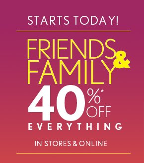 STARTS TODAY!