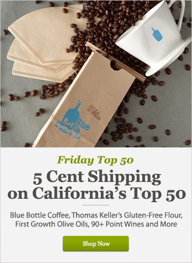 5 Cent Shipping on California's Top 50 - Shop Now