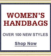 Women's Handbags & Accessories