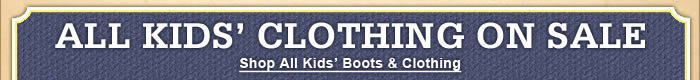 Kids' Western Boots & Apparel