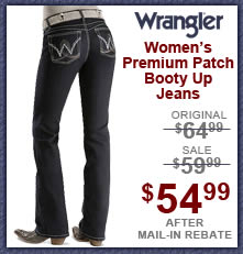 Wrangler Jeans - Premium Patch Booty Up