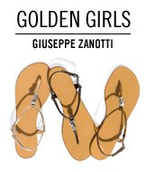 Golden Girls. Guiseppe Zanotti.