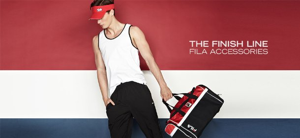 THE FINISH LINE: FILA ACCESSORIES, Event Ends August 1, 9:00 AM PT >