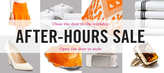 After-Hours Sale Boutique