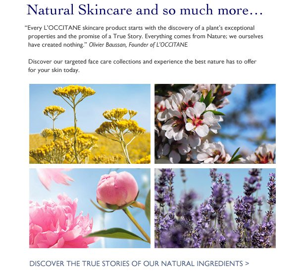Natural Skincare and so much more