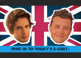 Tune in to today's e-chat