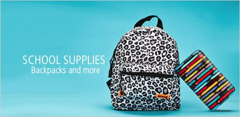 School Supplies - Backpacks and More