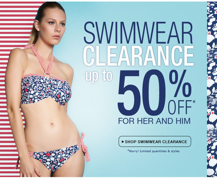 Shop Swimwear Clearance