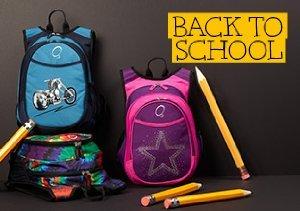 Back to School: O3 backpacks
