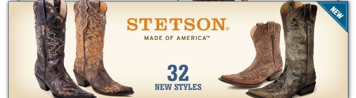 New Women's Stetson Boots