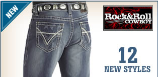New Rock & Roll Cowboy Jeans