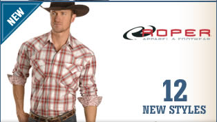 New Men's Roper Shirts