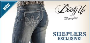 New Booty Up by Wrangler Jeans