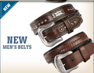 New Men's Belts