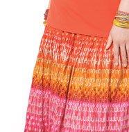 Foil Print Skirt