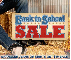 Sheplers Back To School Sale