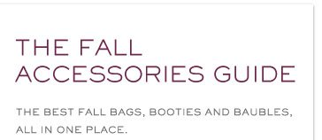 THE FALL ACCESSORIES GUIDE THE BEST FALL BAGS, BOOTIES AND BAUBLES ALL IN ONE PLACE
