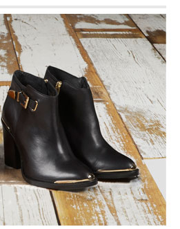 PARTON Metal Trim Boots