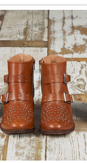 ALVIN Studded Western Boots