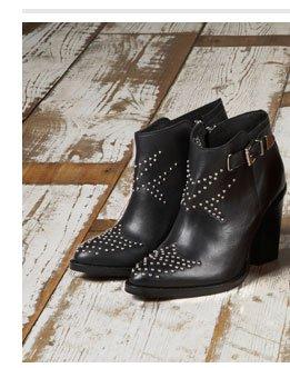 PROUDLOCK Stud Western Boots
