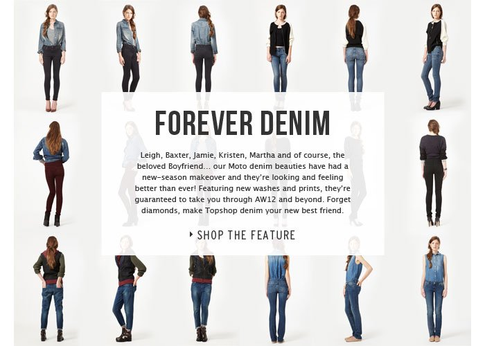FOREVER DENIM - read the feature