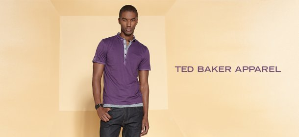 TED BAKER APPAREL, Event Ends August 5, 9:00 AM PT >