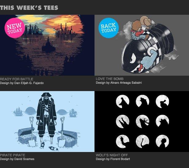 This week's tees