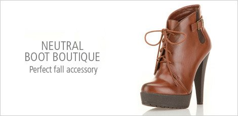 Neutral Boot Boutique