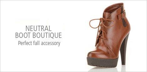 Neutral Boot Boutique