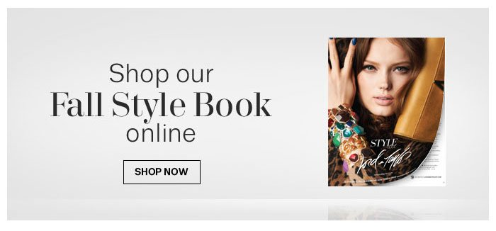 Shop our Fall style Book Online