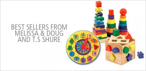 Bets Sellers from Melissa & Doug and T.S Shure