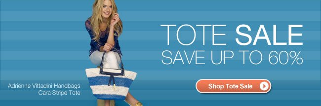 Shop Tote Sale