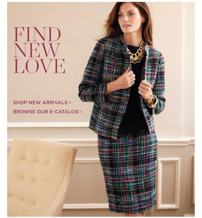 Shop new arrivals. Browse our e-catalog.