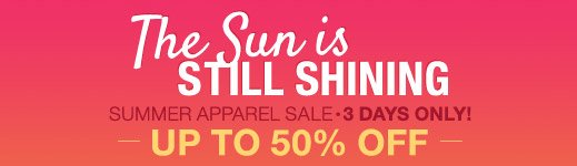 Sun Apparel Sale
