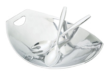 Use the Good Silver Modern Bowls, Trays, & Homewares