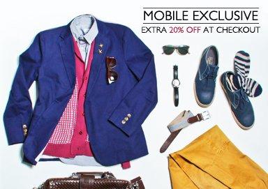 Shop Mobile Exclusive Sale
