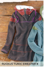 Ruckus Tunic Sweater >