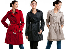 For Fall Showers: Classic Trench Coats