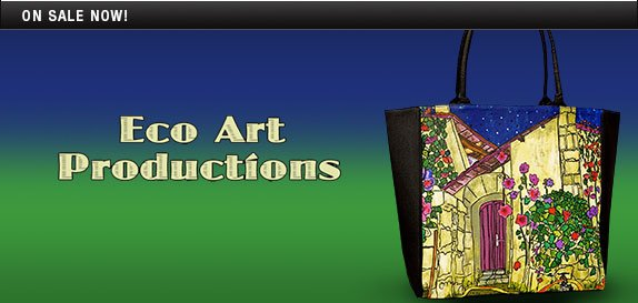 Eco Art Productions Handbags