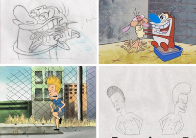 Shop 90's Cartoon Artwork