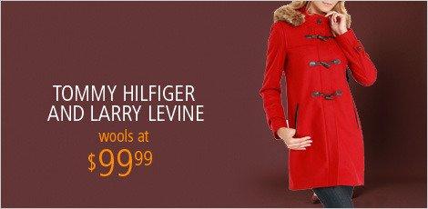 Tommy Hilfiger & Larry Levine Outerwear