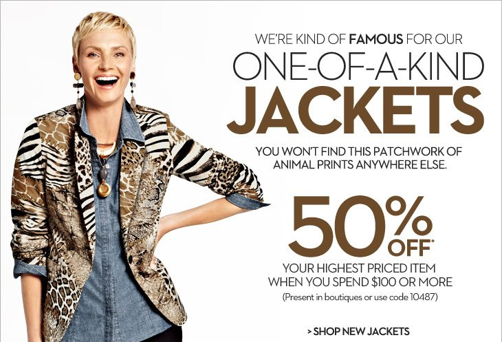 We're kind of FAMOUS for our 