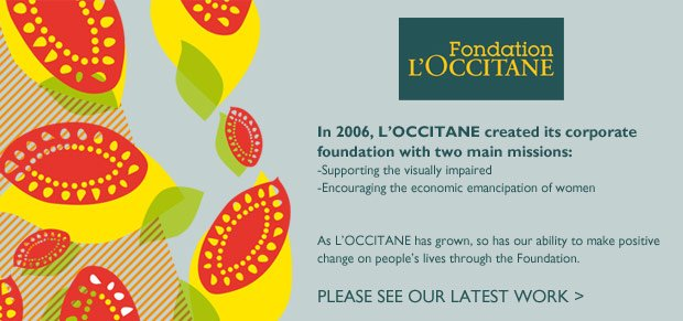 The L'OCCITANE Foundation