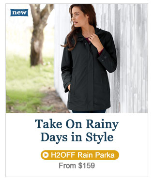 Take On Rainy Days in Style