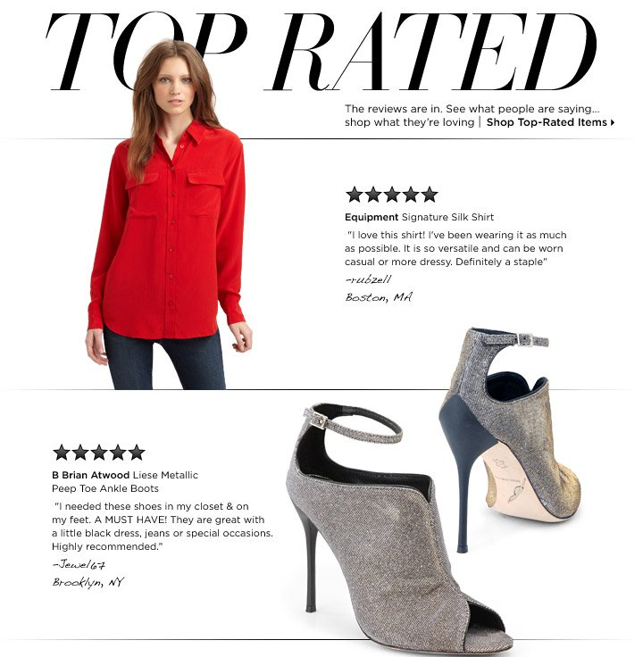 Shop Top-Rated Items