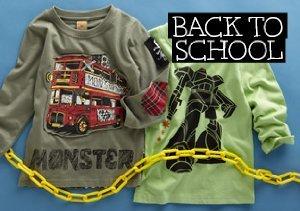 Back to School: Monster Republic for Boys