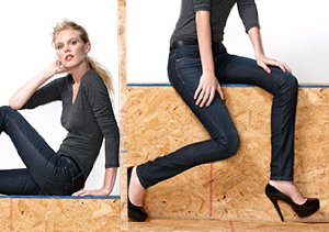 The Denim Shop + Who What Wear: Henry & Belle